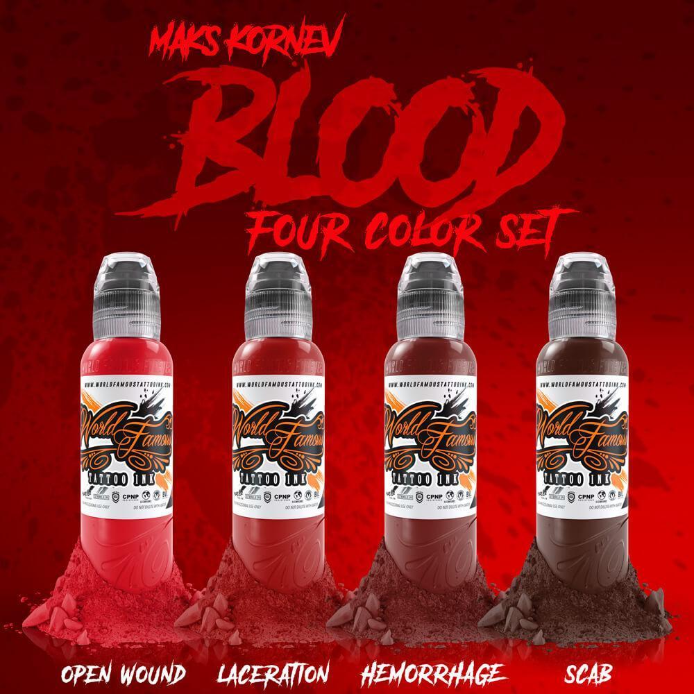 PREVENTA - Set World Famous - Maks Kornev's Blood Color Set