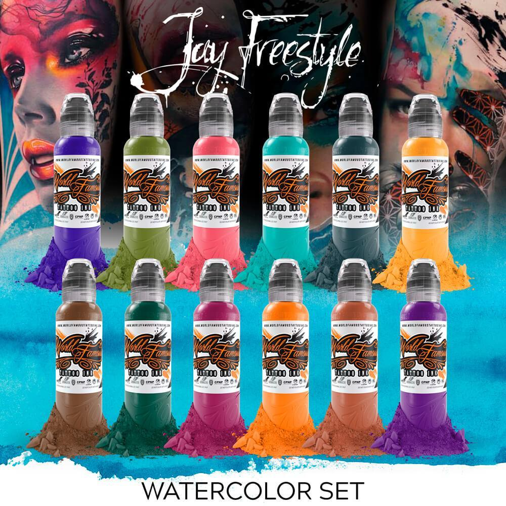 Set World Famous - Jay Freestyle Watercolor Ink Set