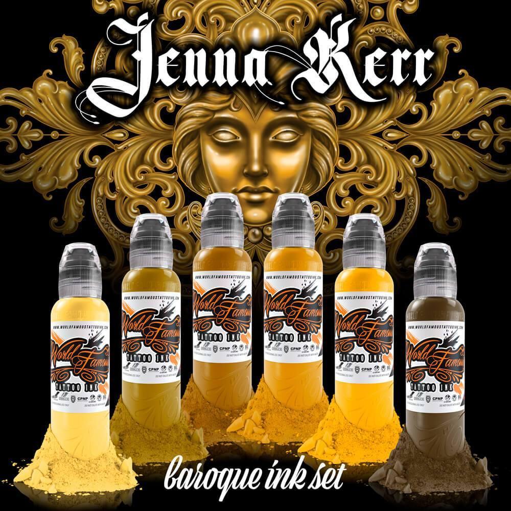 Set World Famous - Jenna Kerr's Baroque Color Set