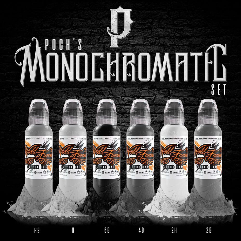 PREVENTA - Set World Famous - Poch Monochromatic