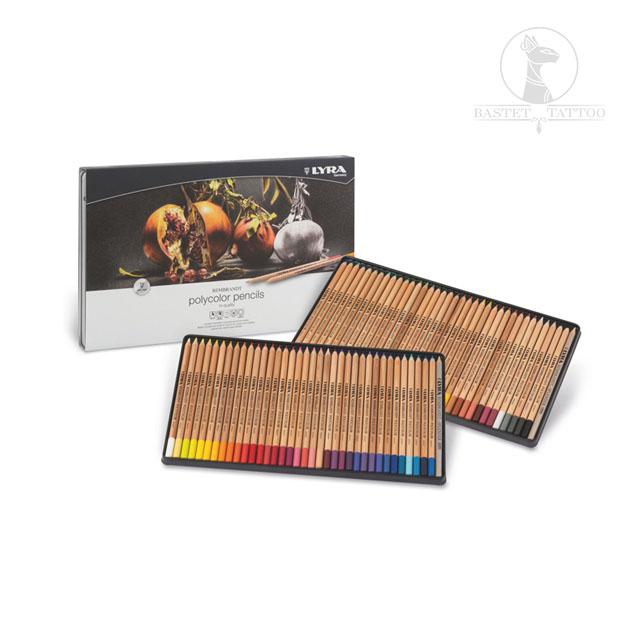 Lápices Artísticos Rembrandt Polycolor 72 Colores