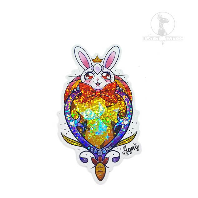 Sitcker Holografico Rabbit