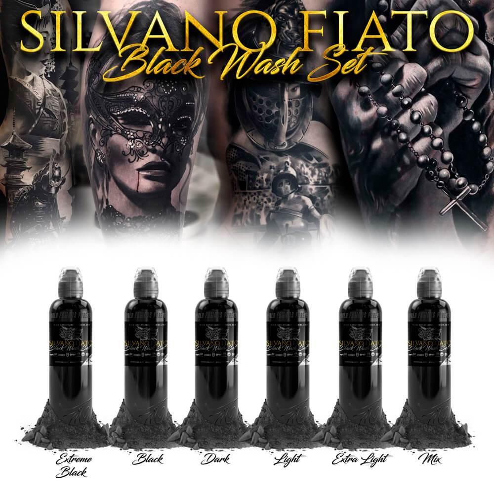 Set World Famous - Silvano Fiato Black Wash Set