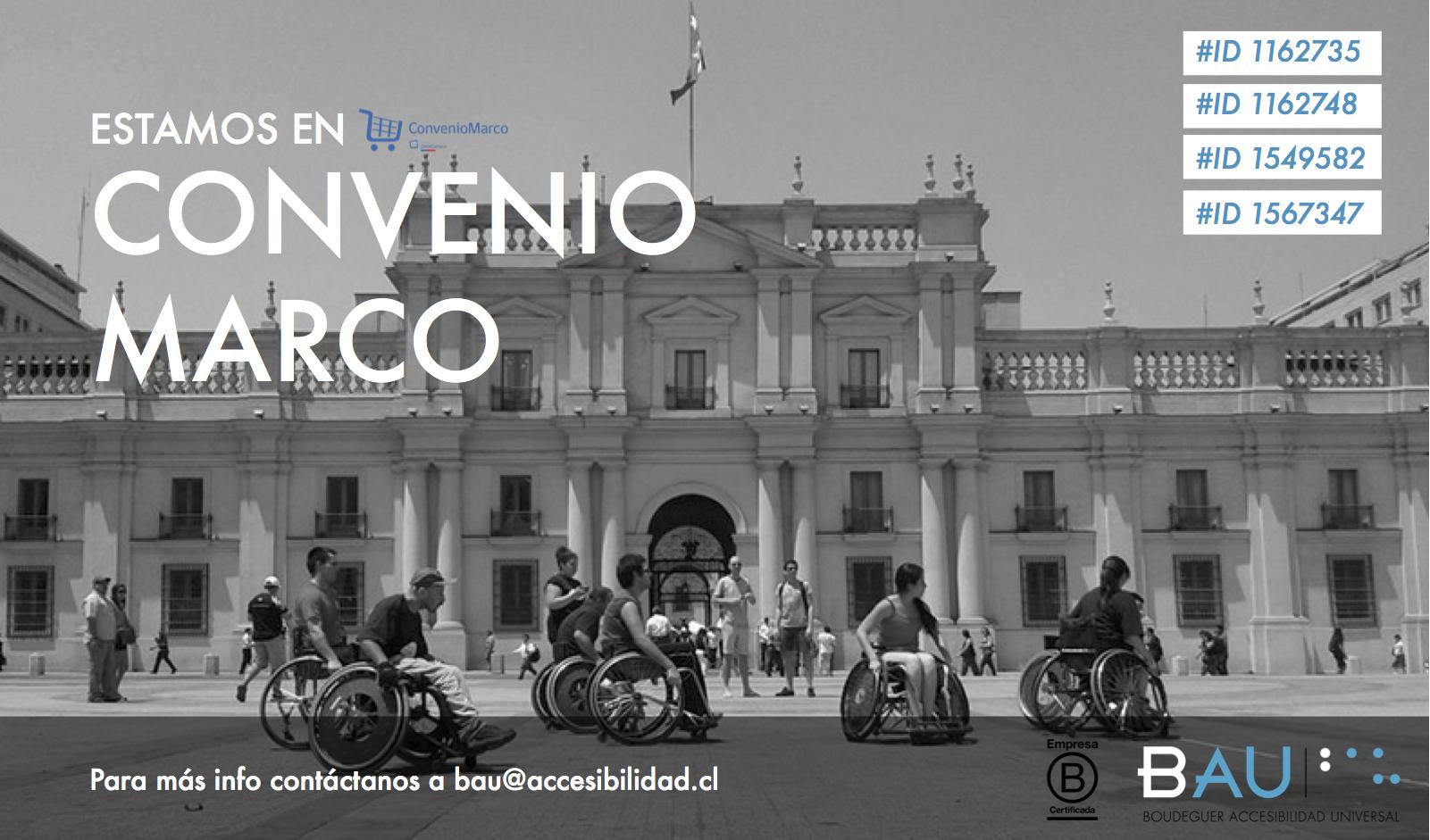 Curso de Accesibilidad Universal en Convenio Marco