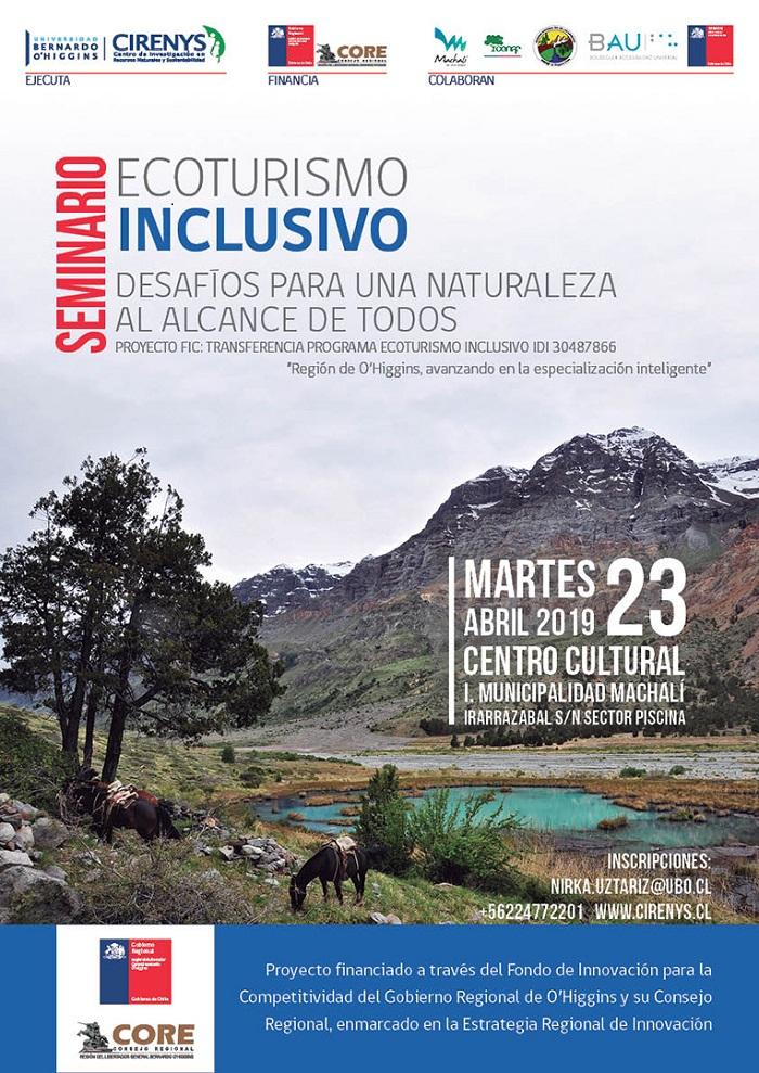 Ruta de Ecoturismo Inclusivo se implementará en la Región de O´Higgins
