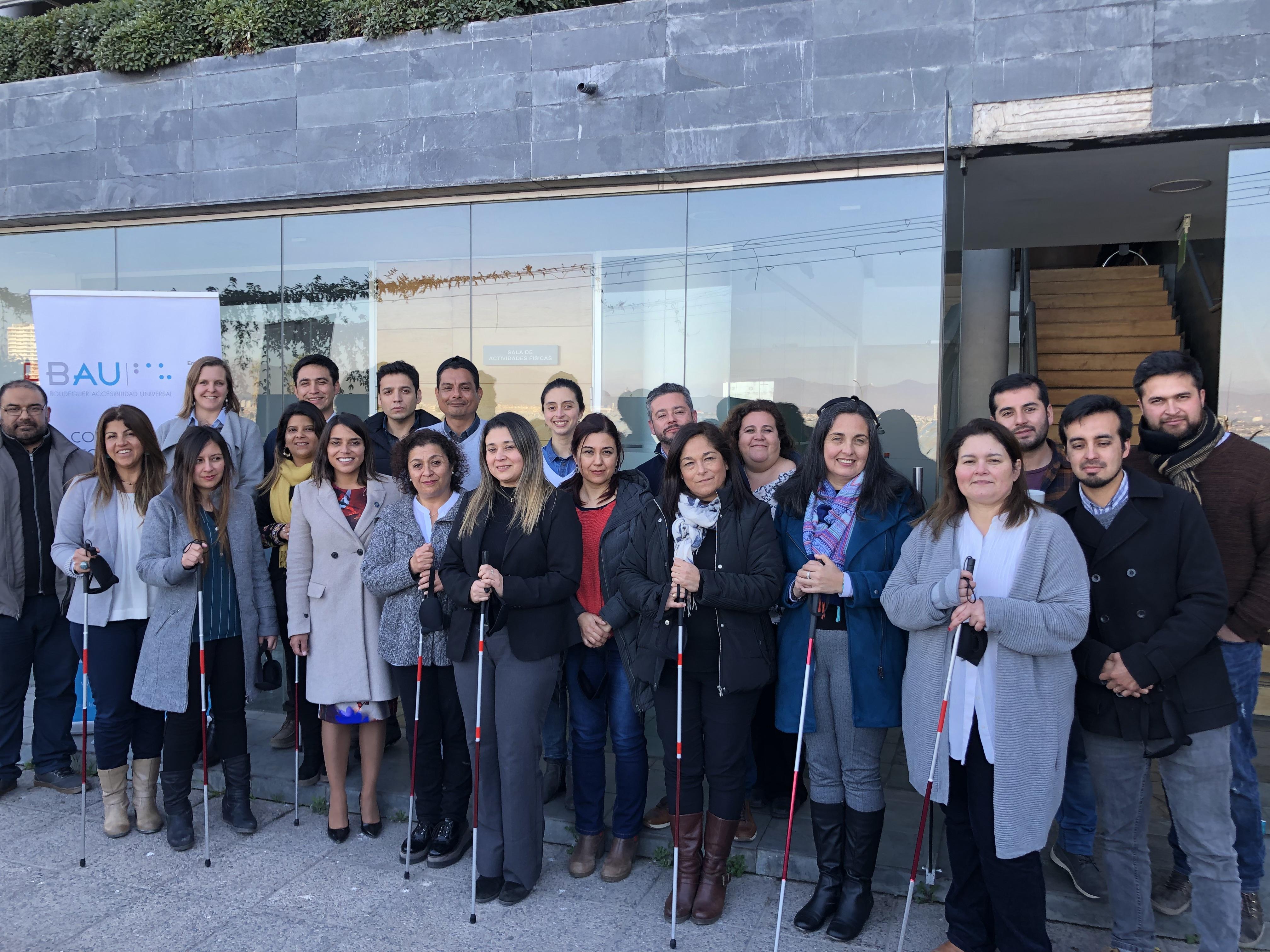 Profesionales del Municipio de Coquimbo se actualizan en materias de accesibilidad universal