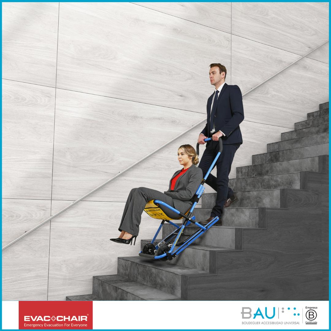 Ya está disponible en Chile, las Sillas de Evacuación Evac+Chair® modelo MK5