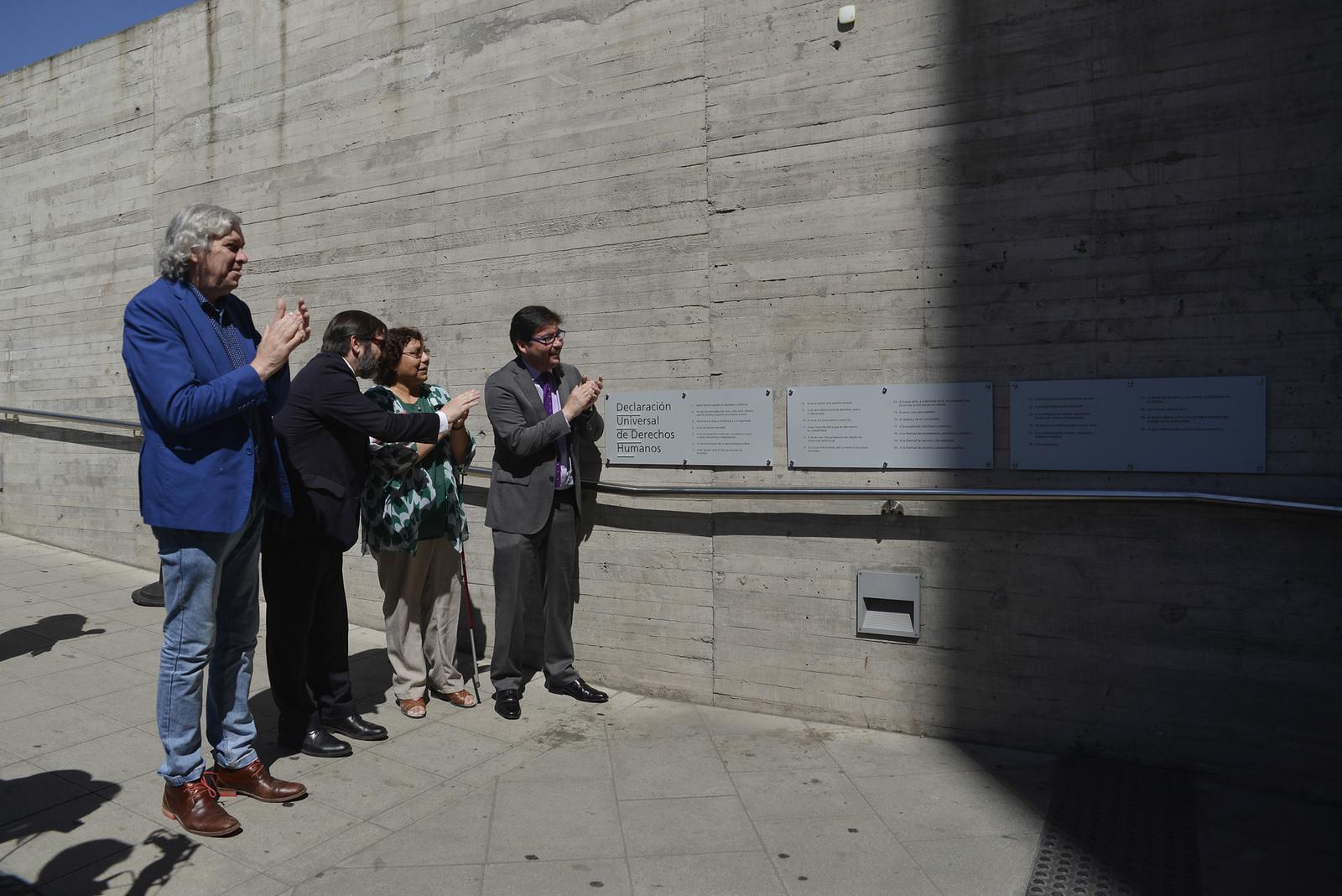 """Museo de la Memoria y los Derechos Humanos: """"ESPACIO PÚBLICO INCLUSIVO Y DE ACCESIBILIDAD UNIVERSAL"""""""