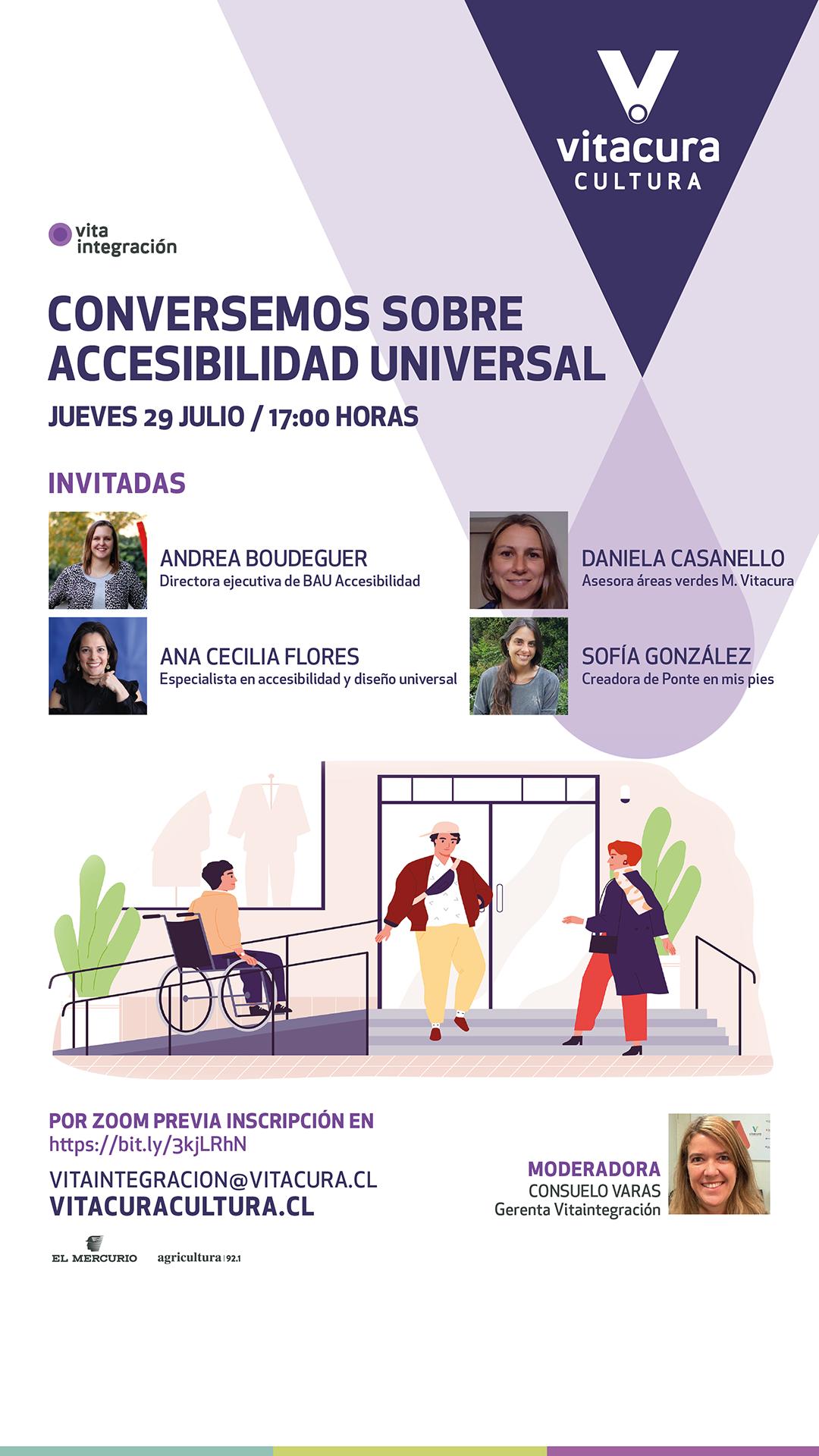 [WEBINAR] Accesibilidad Universal: la cita de Vitaintegración para reflexionar junto a expertas sobre un desafío pendiente
