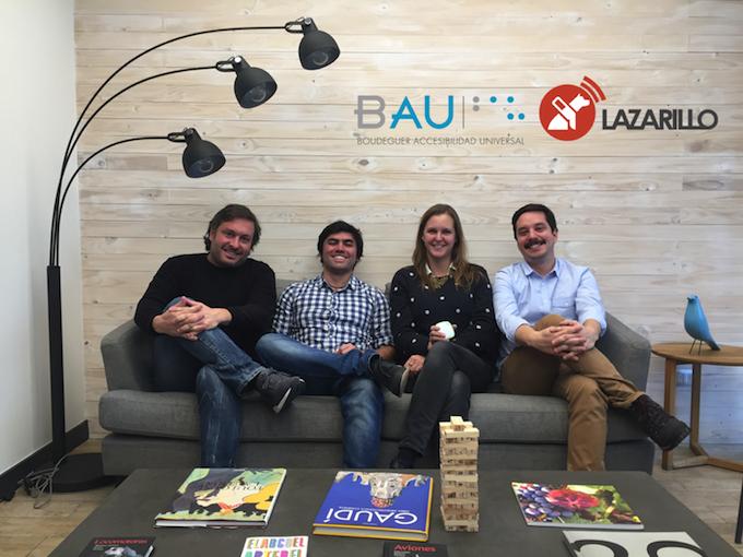 BAU Accesibilidad y LazarilloApp trabajan junto por la autonomía de las personas con discapacidad visual