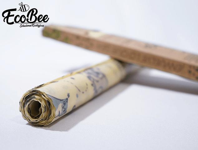 Bee Rolls /Rollo de tela encerada reutilizable 1,15mts x 30cm.