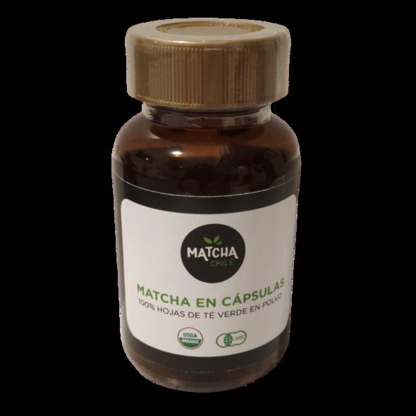 Matcha orgánico en capsulas 60un