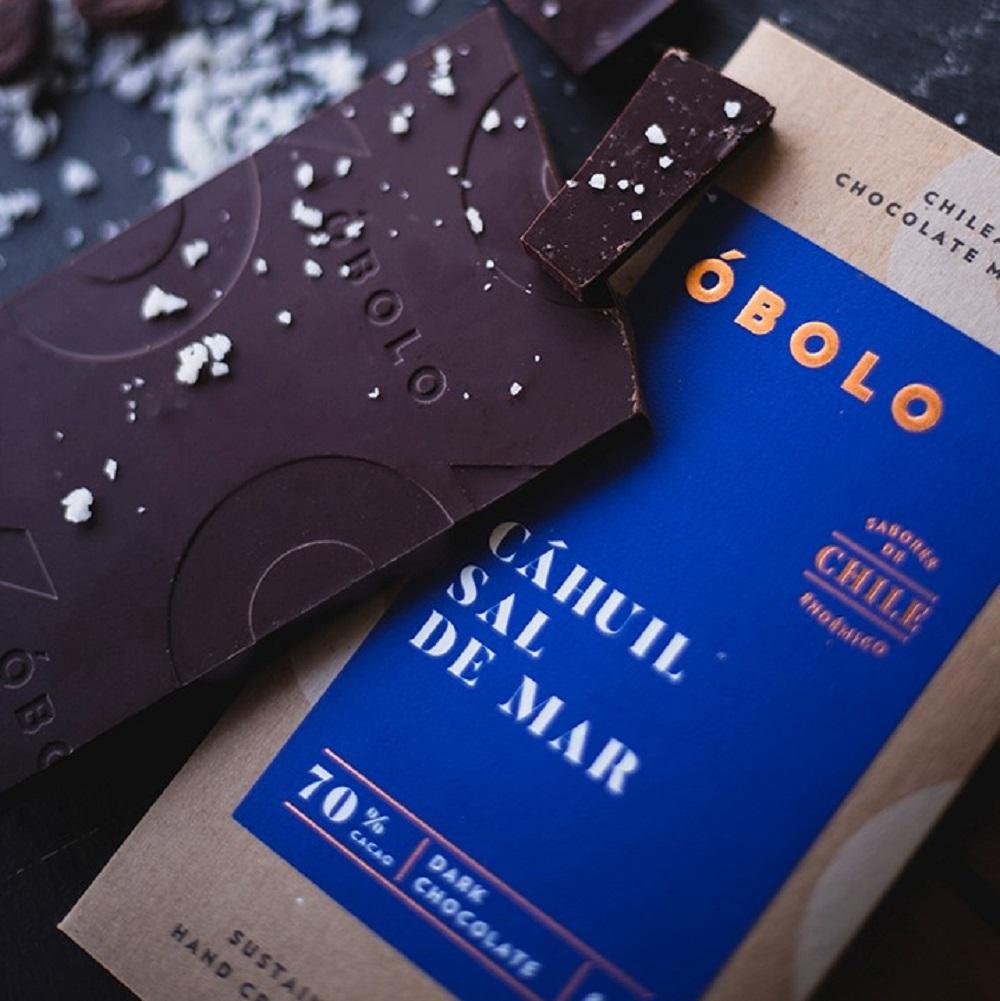 CHOCOLATE CAHUIL SAL DE MAR 70% CACAO 80 gr