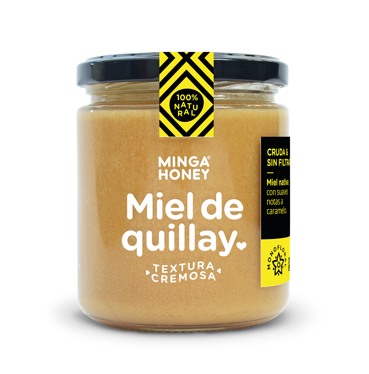 Miel pura quillay cremosa 500gr