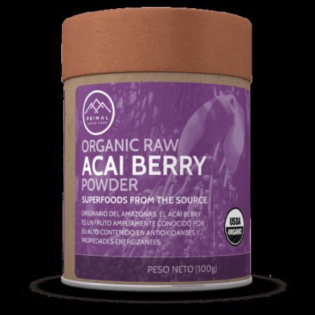 Acai berry orgánico en polvo 100gr