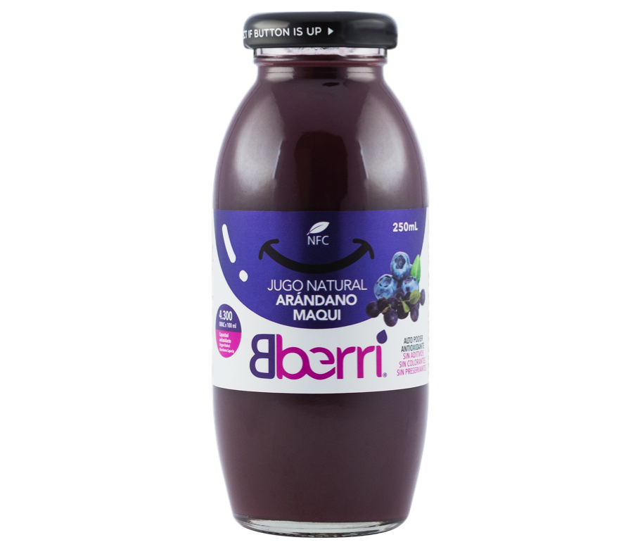 原榨蓝莓马基莓汁(12瓶/箱)