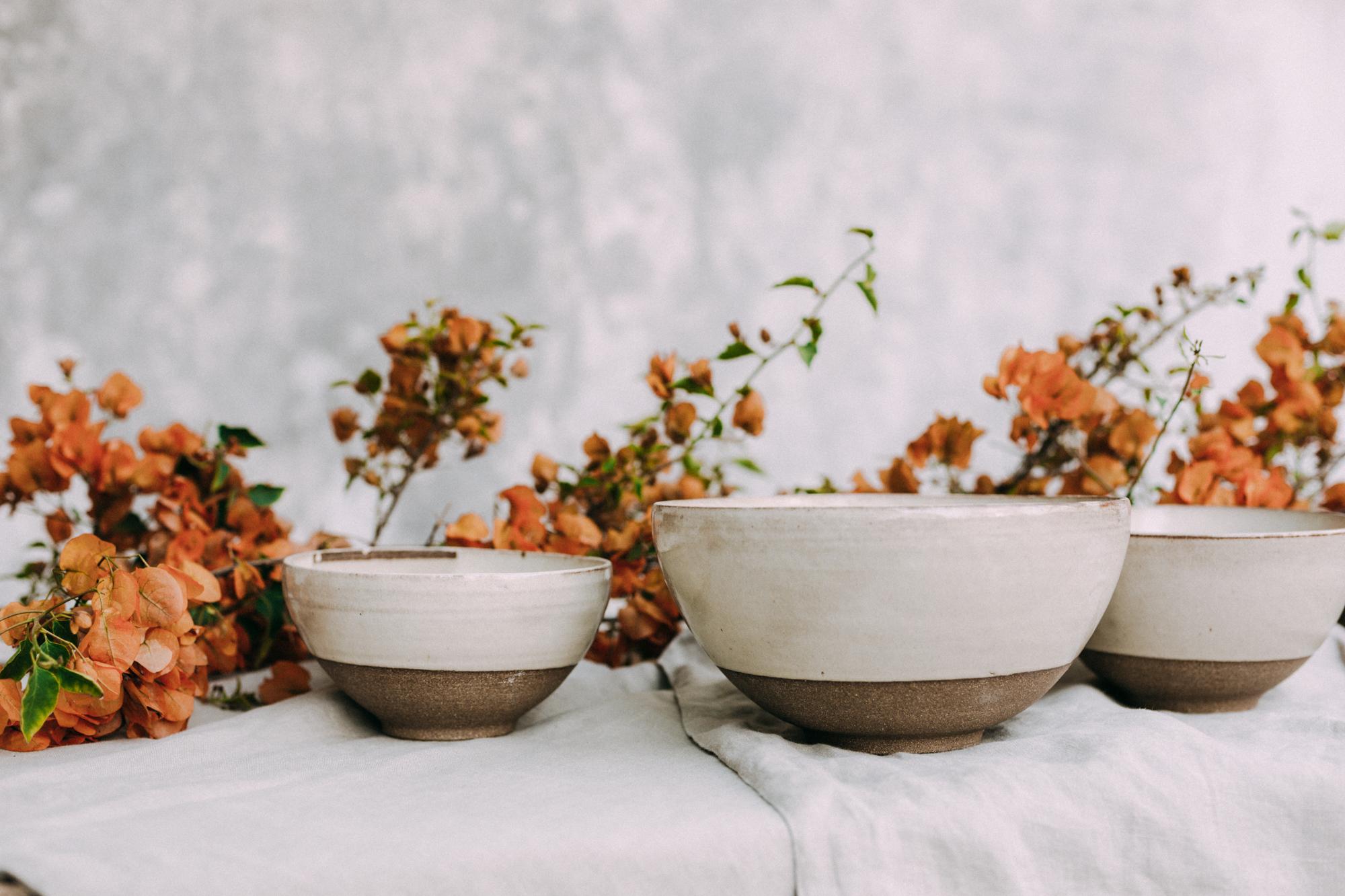 Set de Bowls Crema