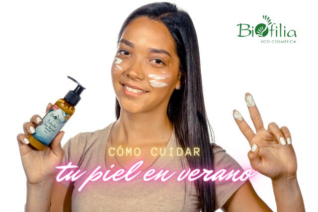 Cuida tu piel en verano ☀️