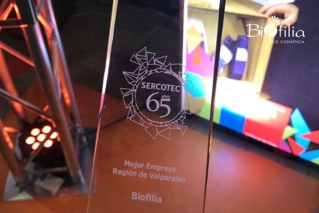 #TBT Biofilia ganó premio emprendimiento regional 2017