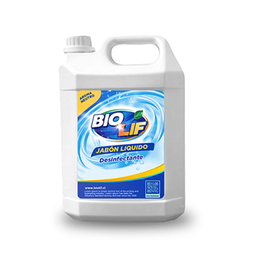 Jabón Desinfectante Biodegradable 5 Litros