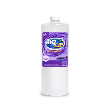 Jabón Glicerina BIOLIF 1 Litro aroma Lavanda