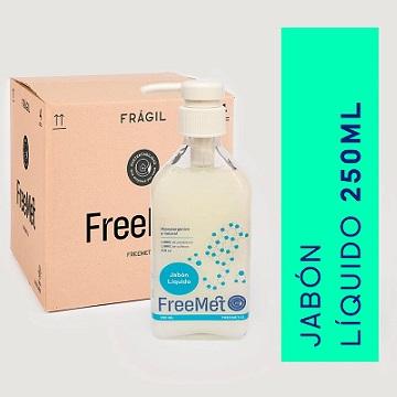 Freemet Jabón líquido natural 250ml