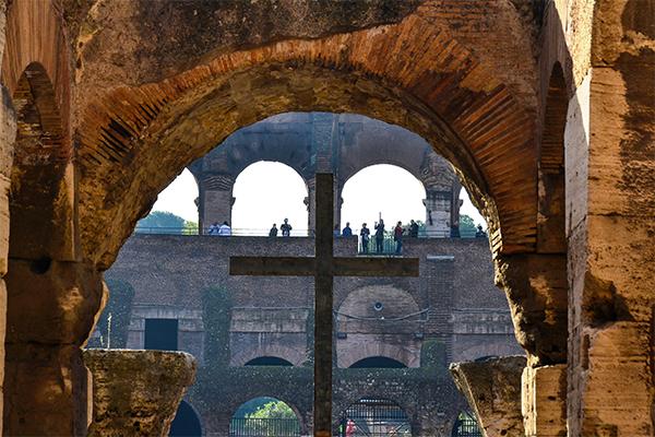 Visitando el Coliseo Romano