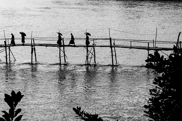 Atravesando el Mekong