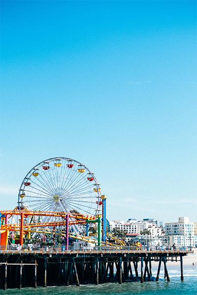 Muelle de Santa Bárbara de Los Ángeles