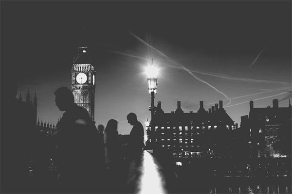Big Ben por la noche