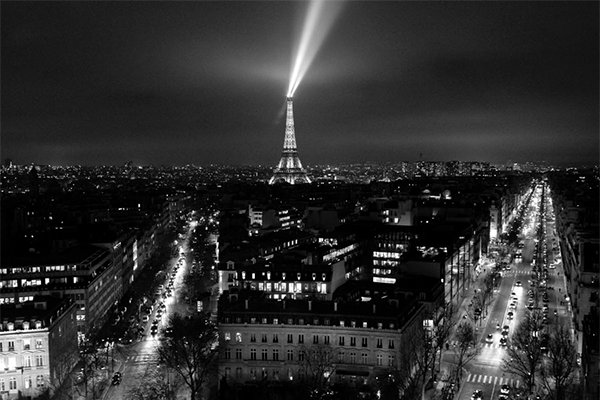 Vista de París