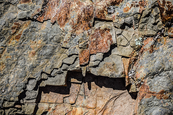 El cubismo de la roca