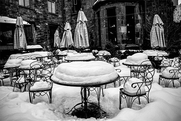 El abandono del invierno
