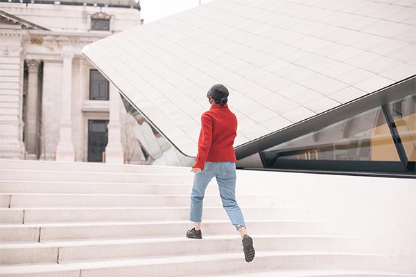 Caminante Escalera