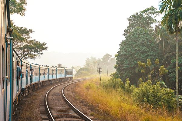 Andar en Tren