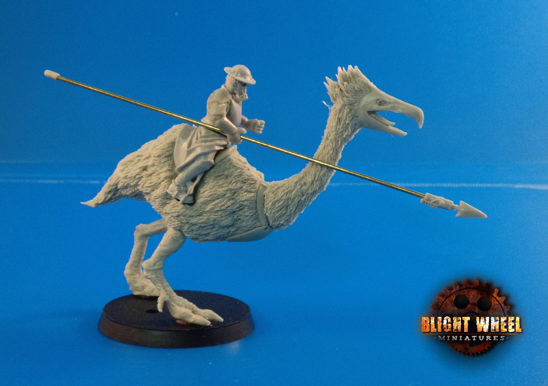 Terror bird cavalry 02