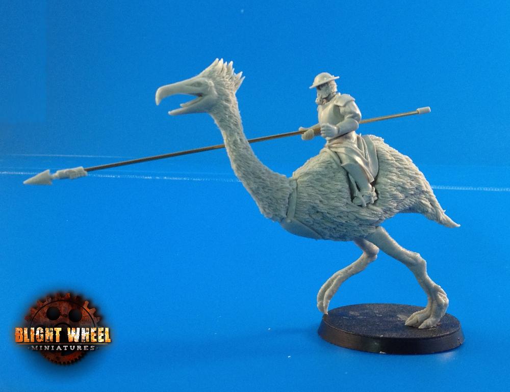 Terror bird cavalry 04