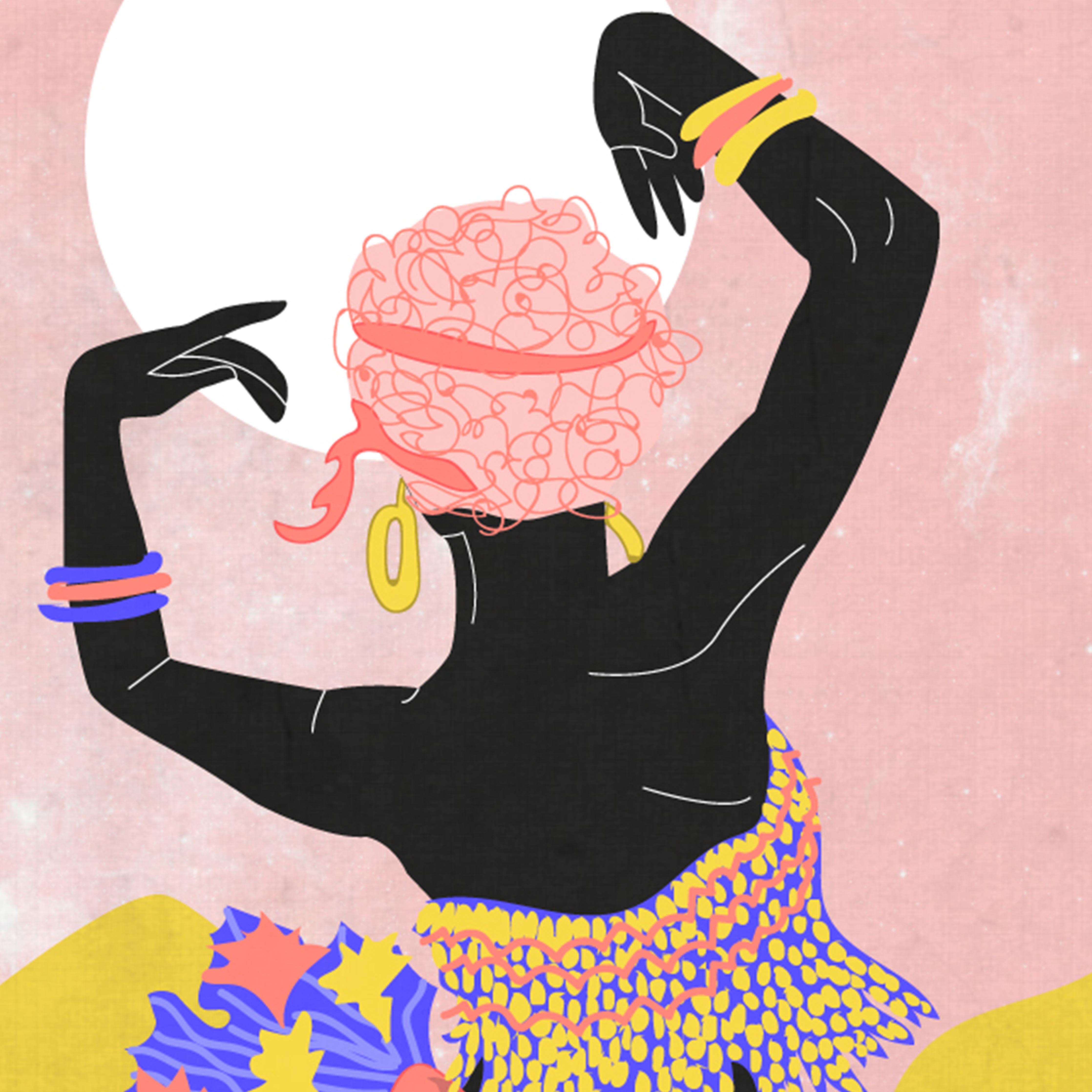 Women Dancing in the Moonlight