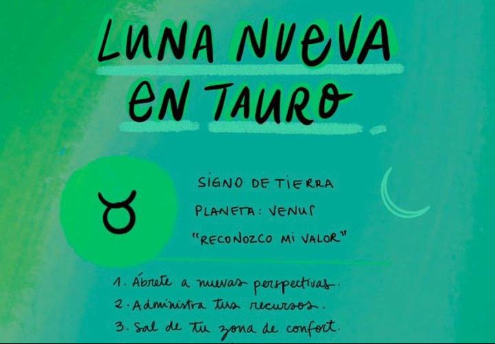 Luna nueva en Tauro: Reconocer nuestro valor