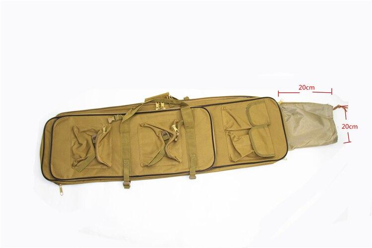 Funda y mochila con bolsillos 85x29cm Café