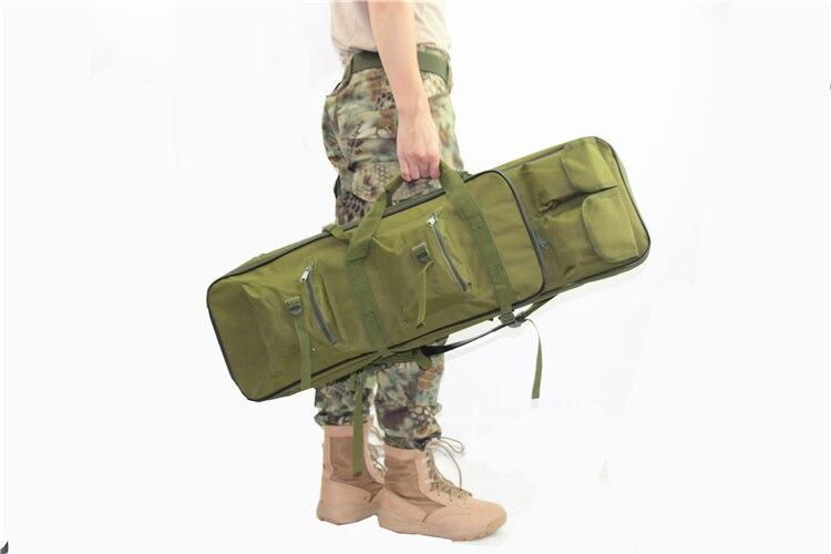 Funda y mochila con bolsillos 100x29cm Verde