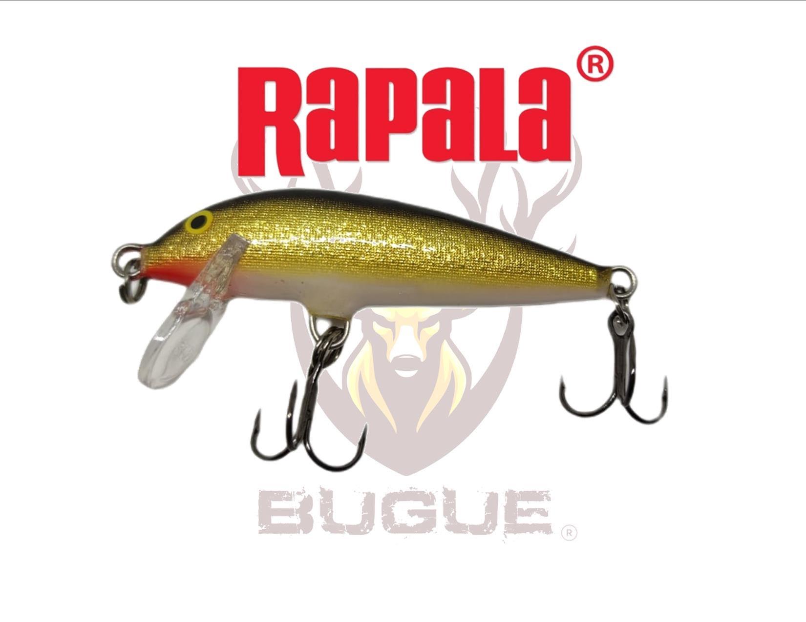 Señuelo Marca: Rapala modelo CD-5 GOLD SINKING