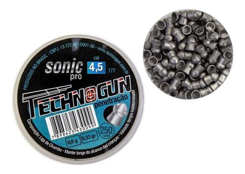 Postón Technogun  SONIC PRO 4.5 mm 250 un