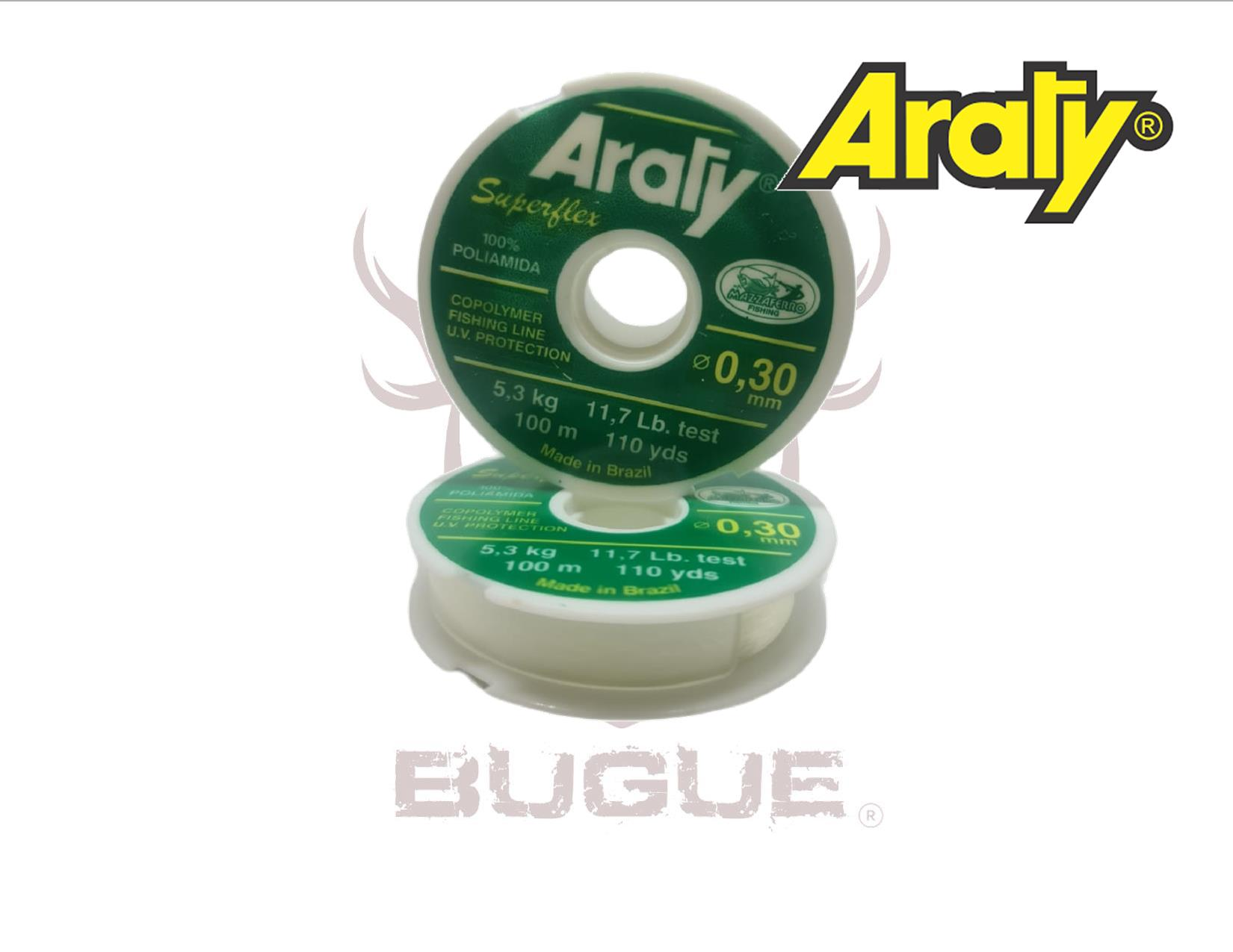 Nylon Araty Superflex 0.30 mm 100 m