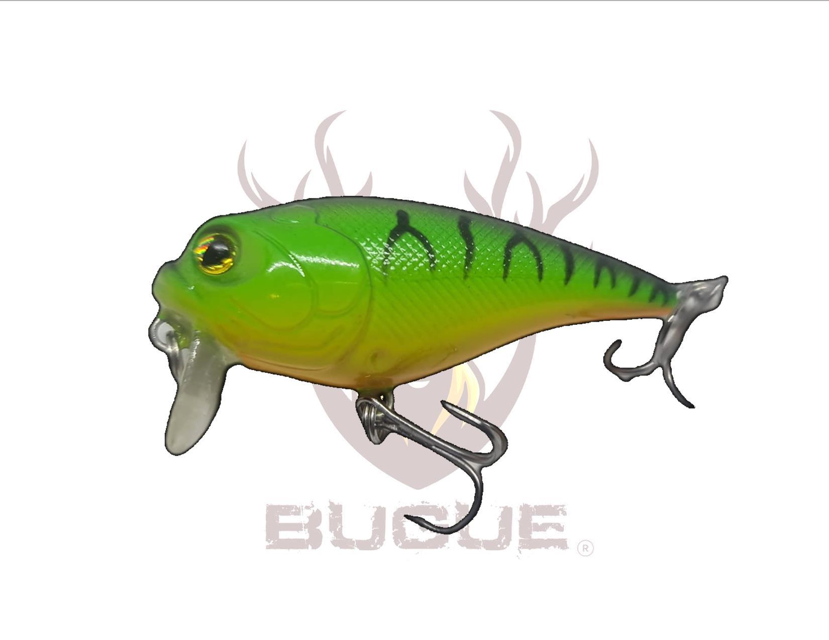 Señuelo VIPER Verde y rayas 5.5 cm 12 gr