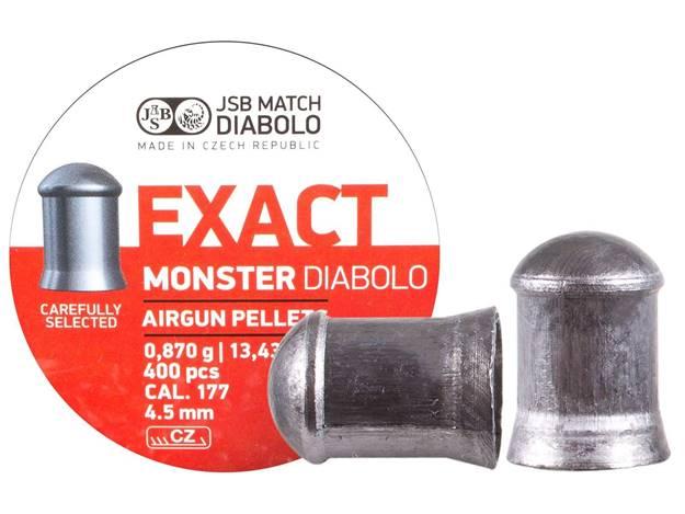 POSTON JSB EXACT monster 4.5 MM 13.43 GR 400 UN