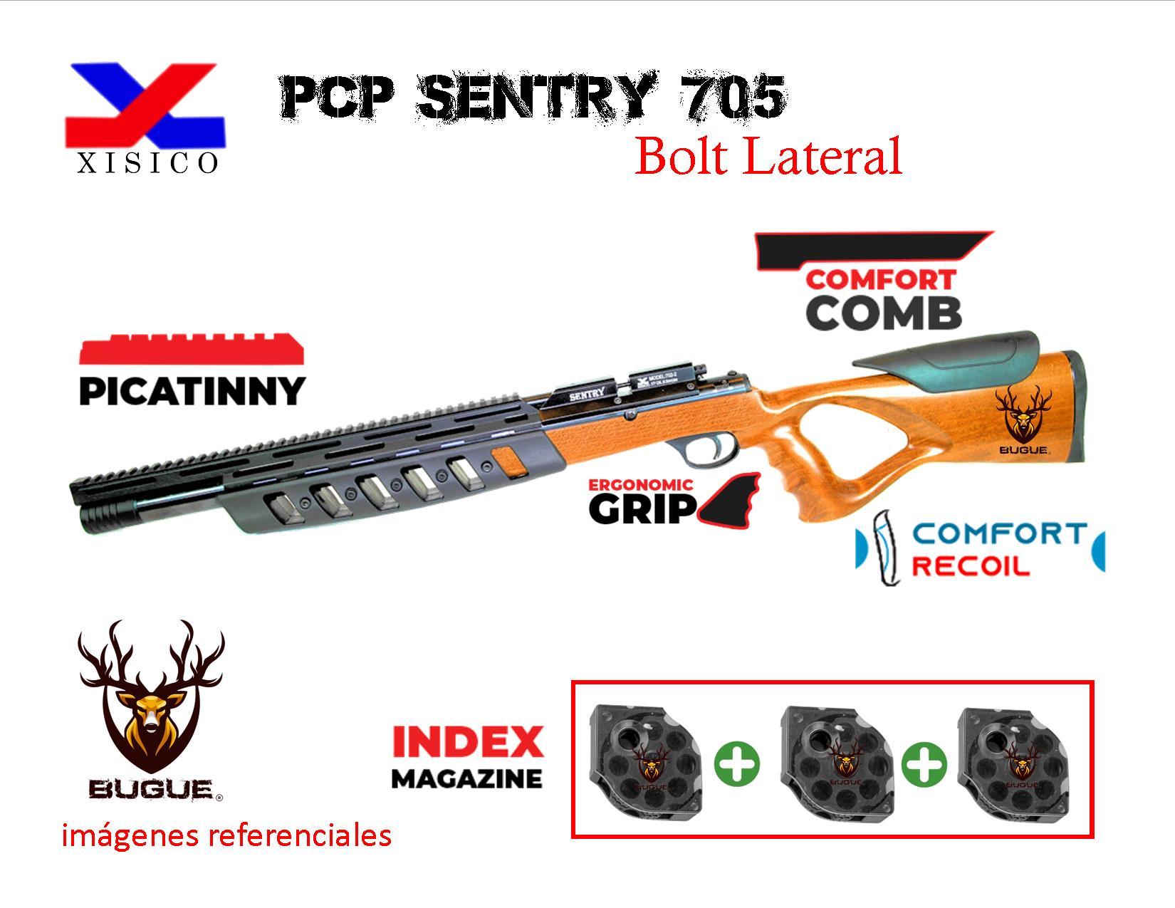 Sentry PCP Modelo 705 calibre 5.5 mm