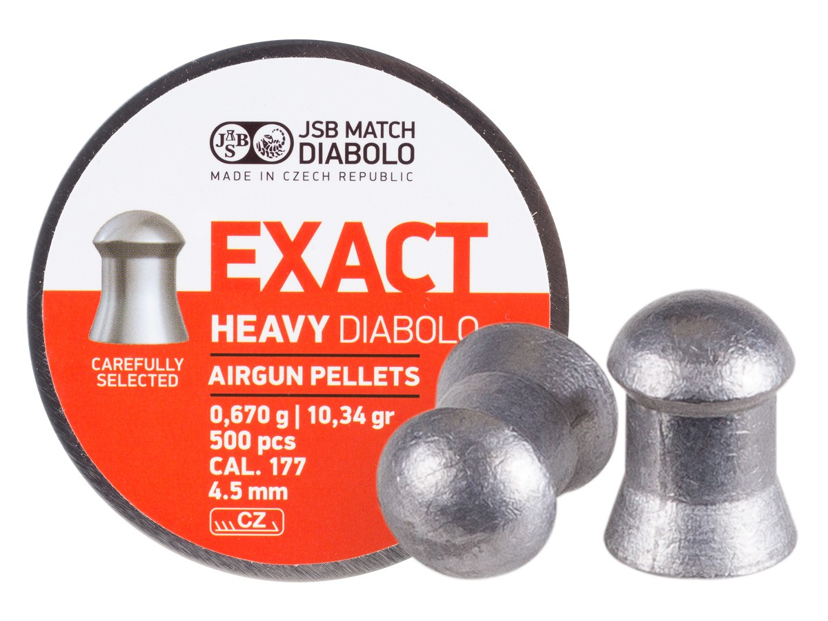 POSTON JSB EXACT 4.5 MM 10,34 GR 500 UN