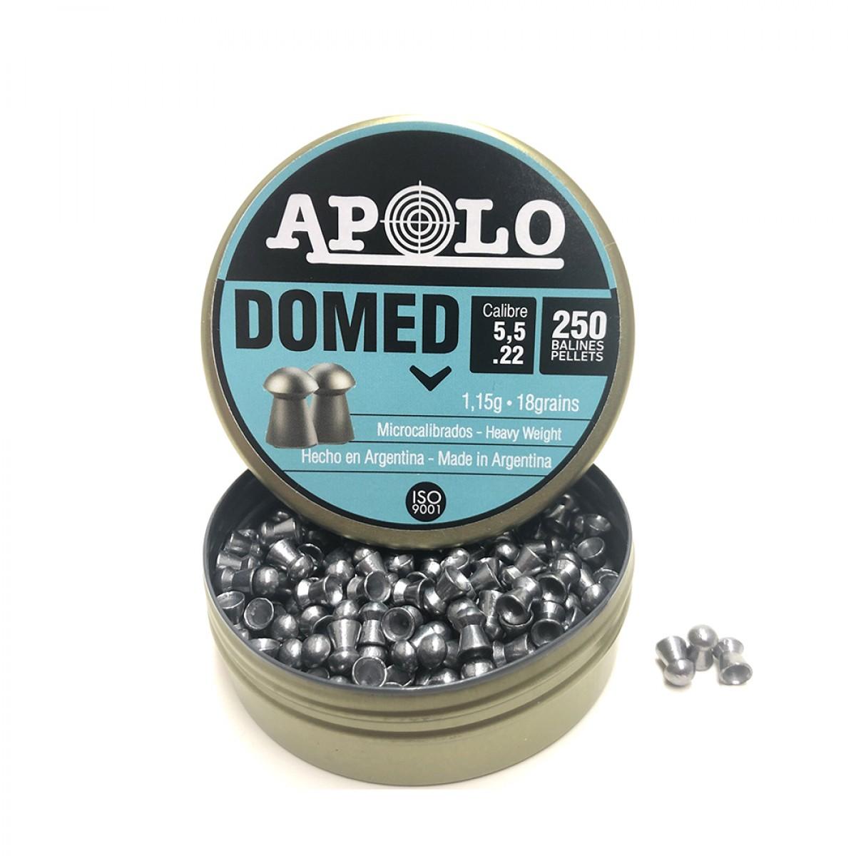 Poston Marca: APOLO Modelo: Domed 5.5 mm 18gr 250 unidades