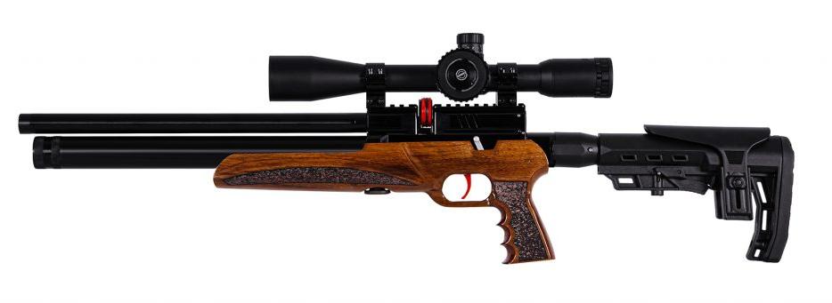 Rifle PCP Marca: ARMSTAR Modelo: Tsunami T2 cañon corto